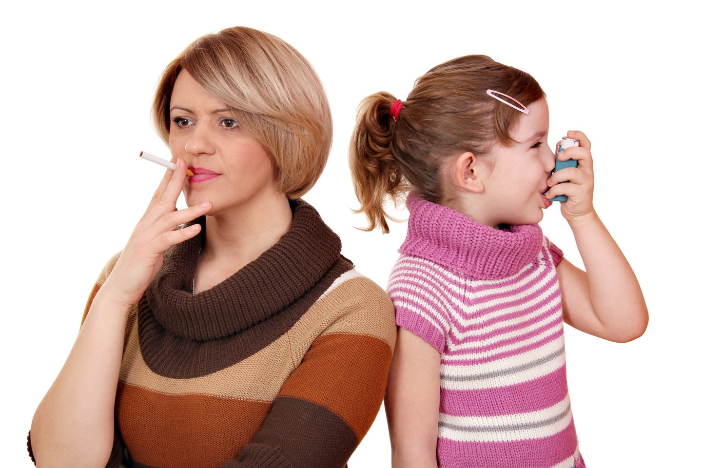 Cigarette smoke can also be absorbed by children's skin: many are at risk of serious illness later on – Lrytas.lt
