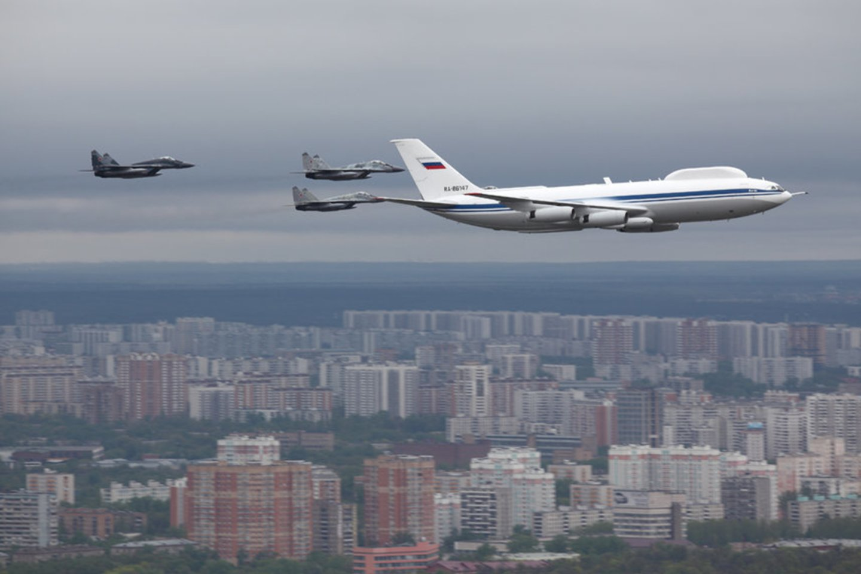 """Antros kartos orlaivis """"IL-80"""".<br>Wikimedia commons"""