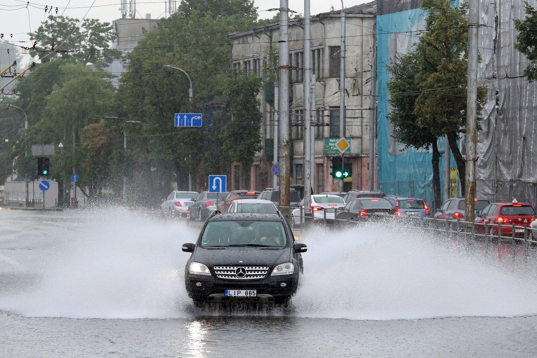 Orai Lietuvoje.<br>M.Patašiaus nuotr.
