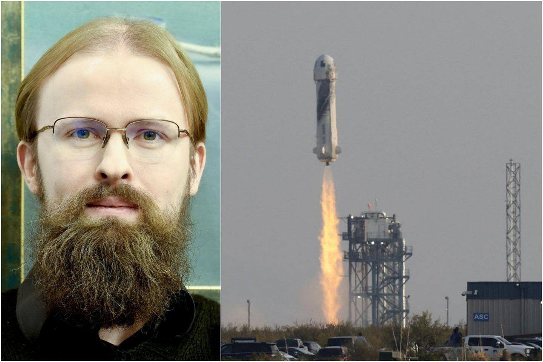 Vilniaus universiteto Fizikos fakulteto docentas, astrofizikas dr. Kastytis Zubovas sako, kad kosminio turizmo prasmę galima įžvelgti kalbant apie investicijas.<br>Lrytas.lt koliažas