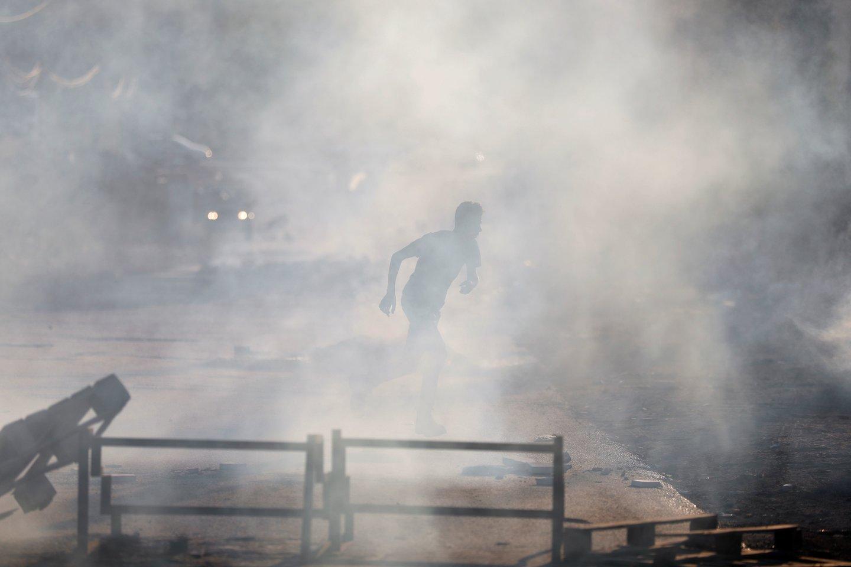 Izraelio kariuomenė tiria incidentą ir jokių komentarų nepateikė.<br>Reuters/Scanpix nuotr.