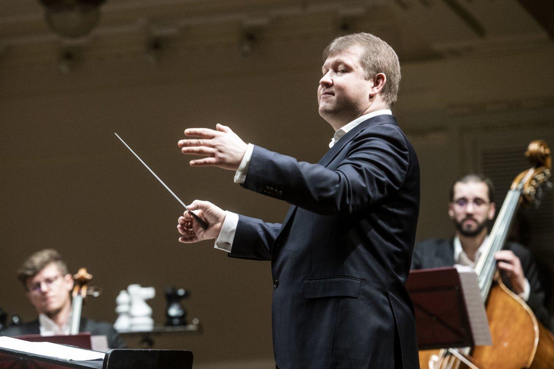 Operos idėjos autorius – dirigentas Robertas Beinaris.<br>D.Matvejevo nuotr.