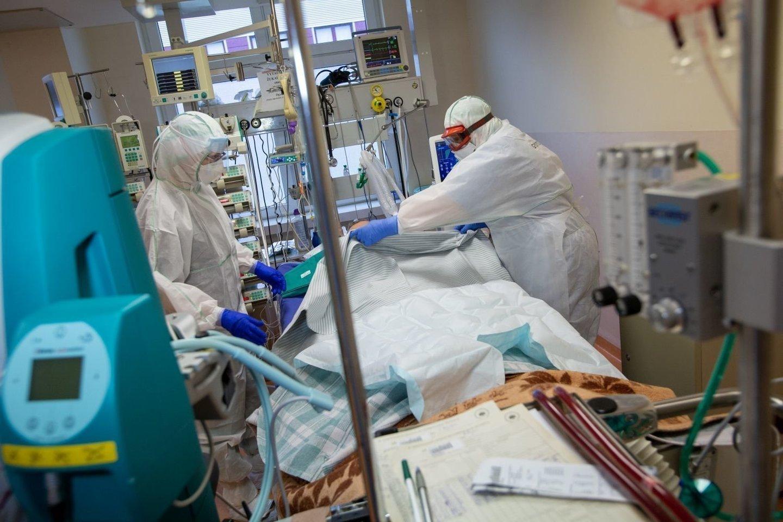 Šiuo metu Lietuvos ligoninėse gydoma per 100 koronavirusu sergančių pacientų.<br>V.Balkūno nuotr.