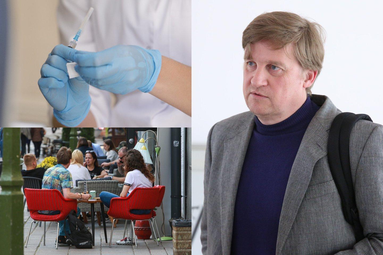 Šiuo metu Lietuvos ligoninėse gydoma per 100 koronavirusu sergančių pacientų.<br>Lrytas.lt koliažas.