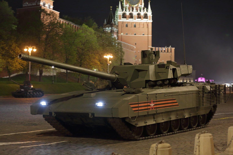 """""""T-14 Armata"""" turėjo atverti naują lapą Rusijos kariuomenės persiginklavime.<br>123rf nuotr."""