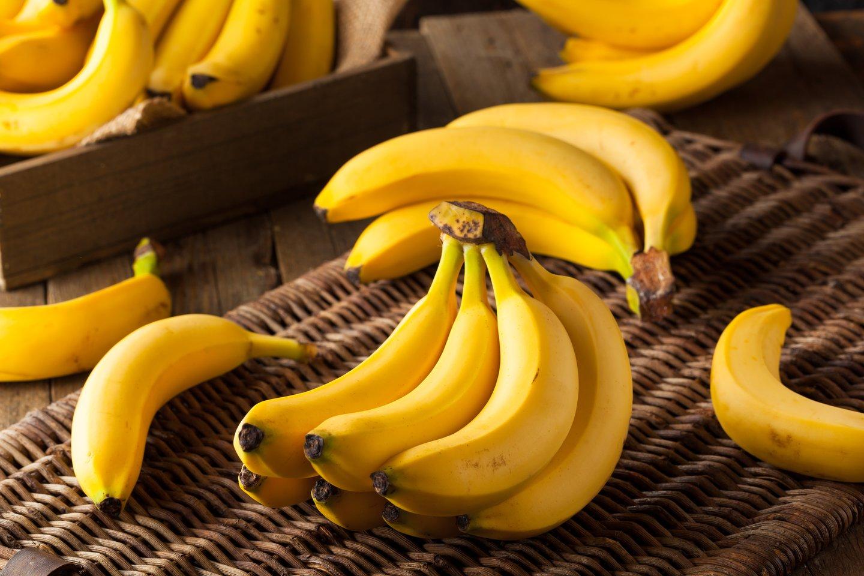 Bananai yra vaisiai, tačiau tuo pačiu ir nėra.<br>123rf nuotr.