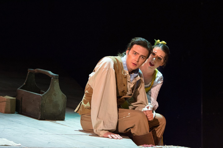Kol kas didžiausias dainininko Žilvino Miškinio vaidmuo – Figaras Estijos nacionaliniame operos ir baleto teatre.<br>ENOBT nuotr.