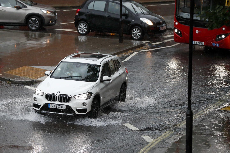 Potvyniai Anglijoje.<br>ZP/Scanpix nuotr.