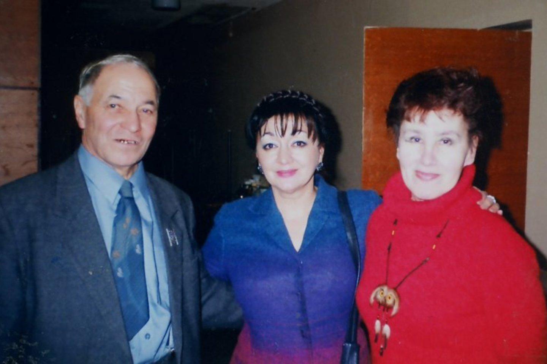I.Bogatovas su žmona Klara mėgdavo lankysis tautiečių koncertuose.<br>Asmeninio archyvo nuotr.