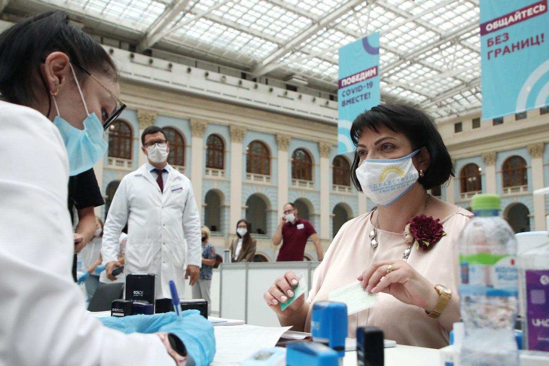 Koronavirusas Rusijoje.<br>TASS/Scanpix nuotr.