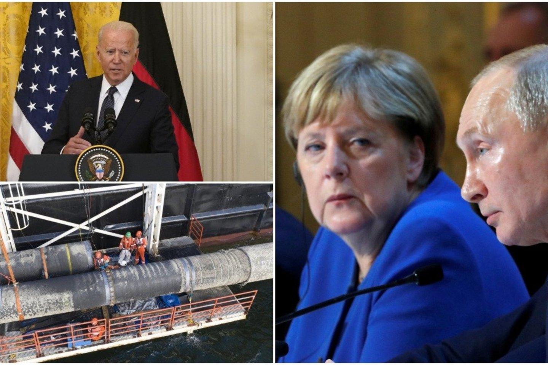 Tai ne pirmas kartas istorijoje, kai Berlynas patiki savo energetinį saugumą Rusijai.<br>Lrytas.lt koliažas.
