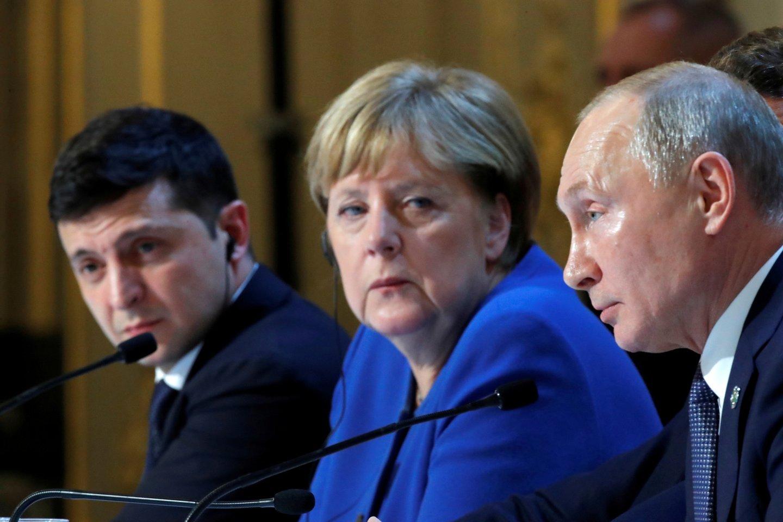 Tai ne pirmas kartas istorijoje, kai Berlynas patiki savo energetinį saugumą Rusijai.<br>Reuters/Scanpix nuotr.