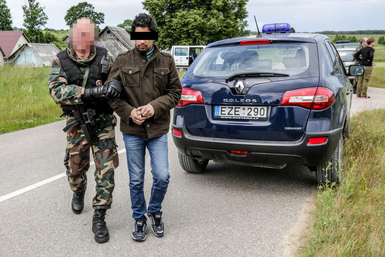 G. Landsbergis: Irako pareigūnai jau padėjo nustatyti dalies migrantų tapatybę.<br>V.Balkūno nuotr.