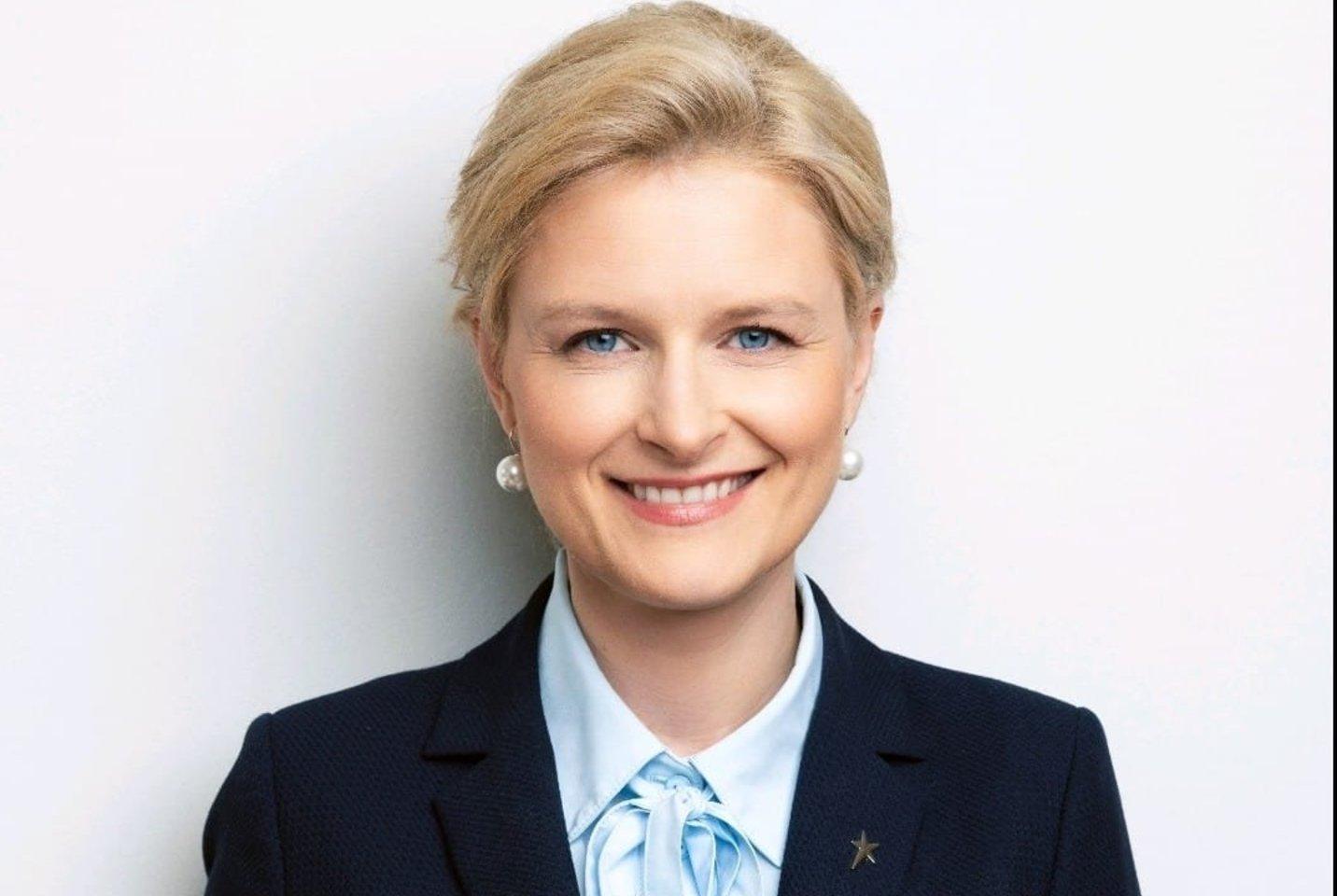 SAM kanclerė Jurgita Grebenkovienė.<br>Pranešimo nuotr.