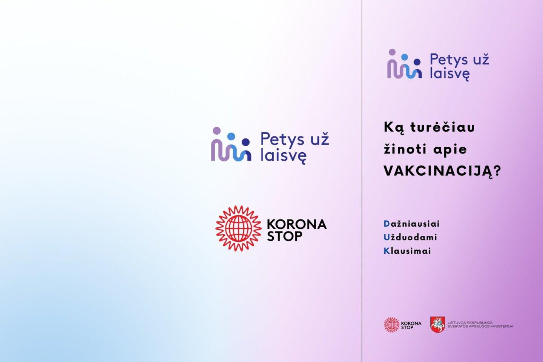 Skelbiama informacija darbuotojams lietuvių kalba.<br>Pranešimo nuotr.