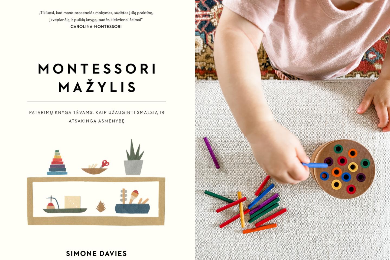 """Leidyklos """"Briedis"""" išleista knyga """"Montessori mažylis"""" padės pritaikyti Montessori ugdymo principus pritaikyti namuose.<br>lrytas.lt koliažas"""