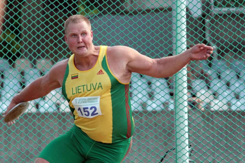 Andrius Gudžius startuos olimpinėje atrankoje.<br>lrytas.lt nuotr.