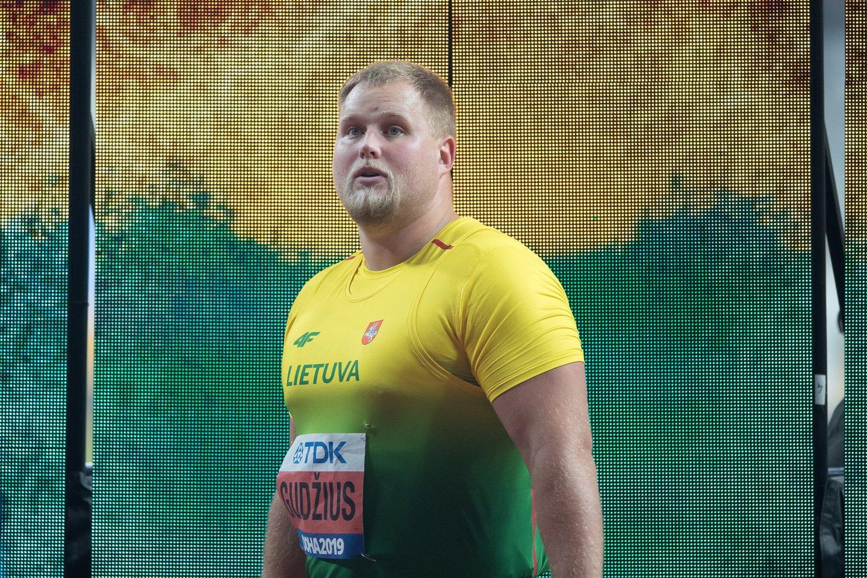 Andrius Gudžius startuos olimpinėje atrankoje.<br>A.Pliadžio nuotr.