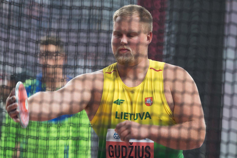 Andrius Gudžius startuos olimpinėje atrankoje.<br>A. Pliadžio nuotr.
