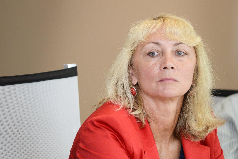 Lietuvos lengvosios atletikos federacijos generalinė sekretorė Nijolė Medvedeva<br>J.Stacevičiaus nuotr.
