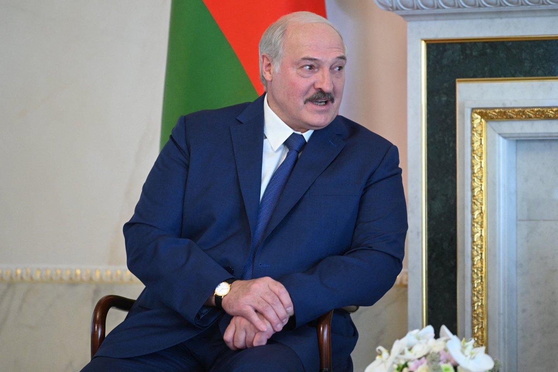 Aliaksandras Lukašenka.<br>AFP/Scanpix nuotr.