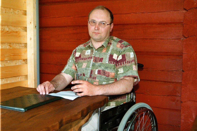 Tomas Šernas<br>R.Jurgaičio nuotr.