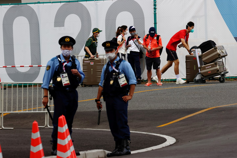 Koronavirusas Japonijoje.<br>Reuters/Scanpix nuotr.