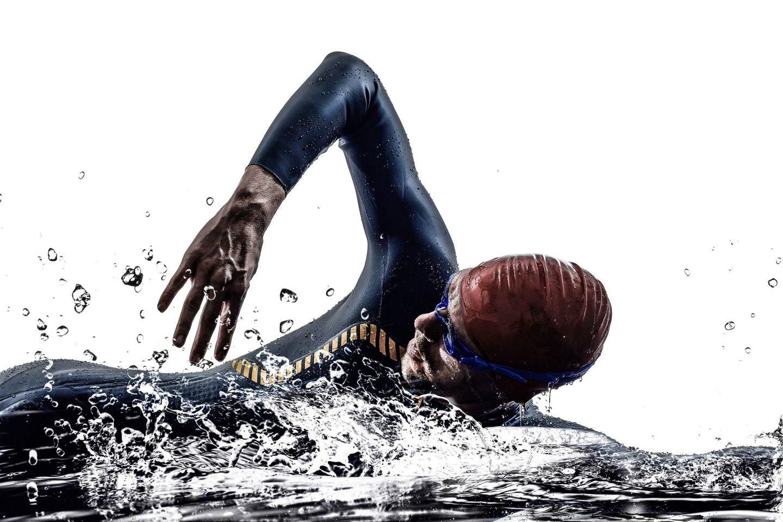 Triatlonas – ištvermės reikalaujanti sporto šaka.<br>123rf nuotr.
