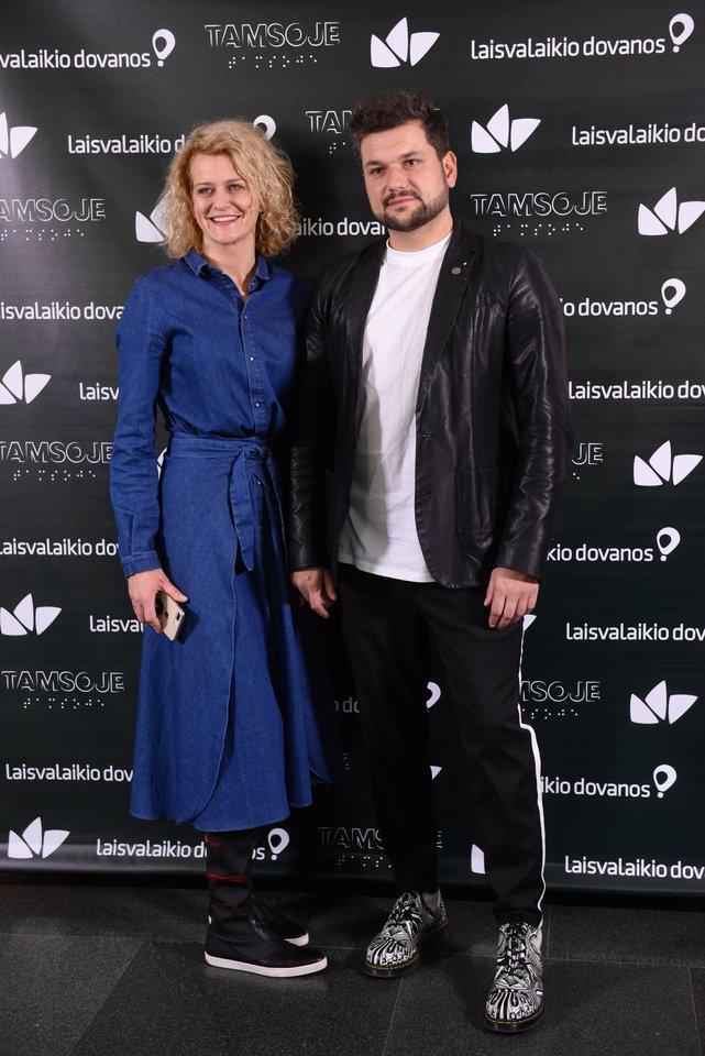Dominykas Kubilius ir Laura Paukštė.<br>D.Umbraso nuotr.