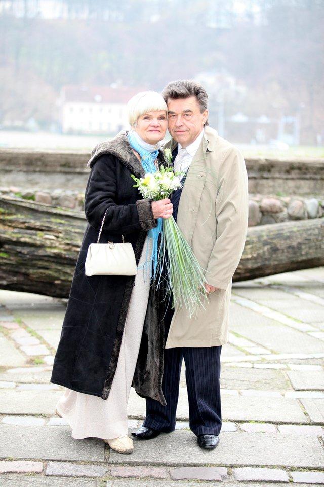 """Ši trečioji Olitos santuoka išskirtinė ir tuo, jog sutuoktiniai vienas į kitą kreipiasi """"jūs"""".<br>Asmeninio archyvo nuotr."""