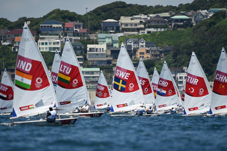 V.Andrulytė užėmė 38-ąją vietą.<br>AFP/Scanpix nuotr.
