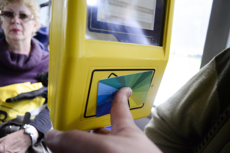 Miestas dovanojamiems viešojo transporto bilietams skirs 5 mln. eurų.<br>J.Stacevičiaus nuotr.
