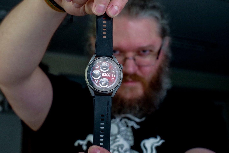 """Portalas Lrytas.lt beveik mėnesį bandė modelį """"Huawei Watch 3 Pro"""" ir dabar dalinasi įspūdžiais.<br>V. Ščiavinsko nuotr."""