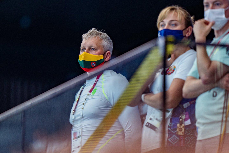 Lietuvos plaukikams nepavyko prasibrauti į kombinuotos estafetės finalą.<br>V.Dranginio/LTOK nuotr.