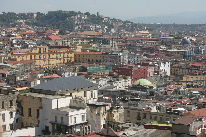 Neapolis, Italija.<br>A.Barzdžiaus nuotr.
