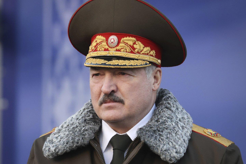 Baltarusijos prezidentas Aliaksandras Lukašenka.<br>AP/Scanpix nuotr.
