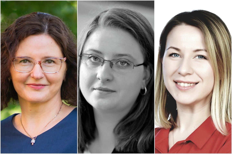 Ingrida Mereckaitė, Lina Kaminskienė, Rasa Nedzinskaitė-Mačiūnienė.<br>Lrytas.lt koliažas