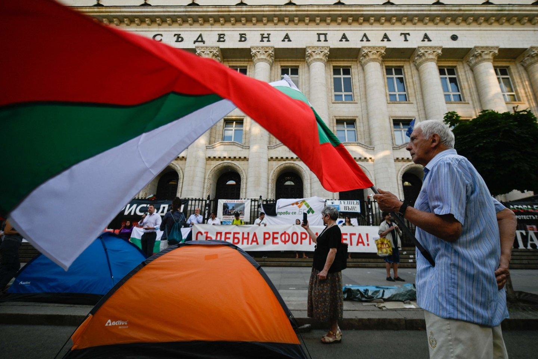 Bulgarijos prezidentas imasi spręsti po rinkimų atsiradusią aklavietę.<br>AFP/Scanpix nuotr.
