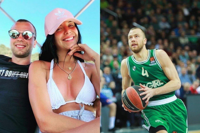 Lukas Lekavičius ir Melina.<br>Socialinių tinklų ir LR archyvo nuotr.