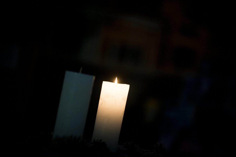 Žvakė.<br>J.Stacevičiaus nuotr.