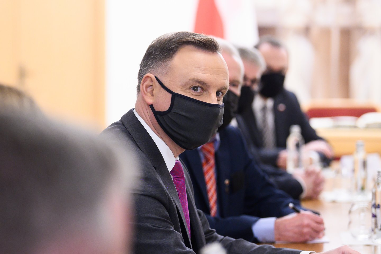 Andrzejus Duda<br>V.Skaraičio nuotr.