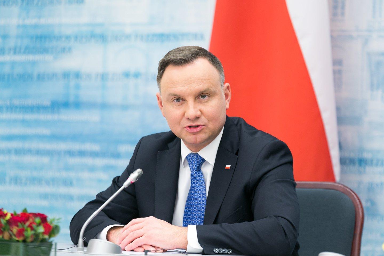 Andrzejus Duda<br>T.Bauro nuotr.
