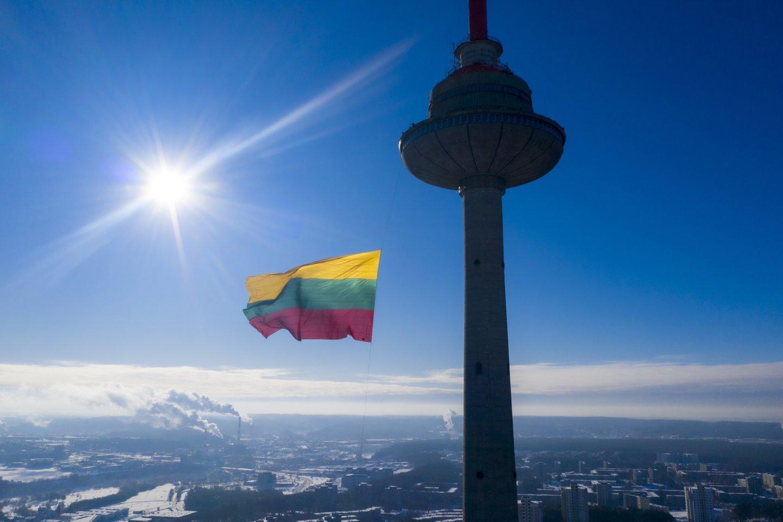 Nuo rugpjūčio 5 d. uždaroma Vilniaus televizijos bokšto atviroji apžvalgos aikštelė.<br>V.Ščiavinsko nuotr.