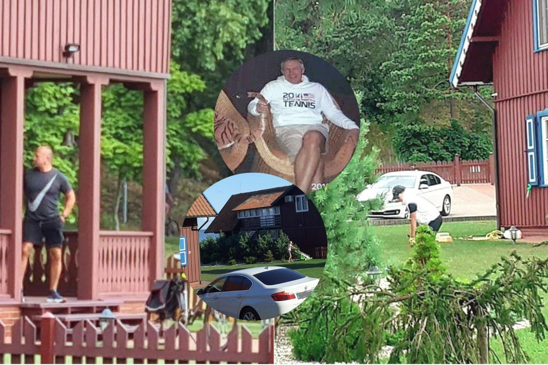 R.Karpavičiui priklausiusi vila, kurią laikinai administruoti paskirta jaunoji našlė, Nidoje tapo garsiu turistiniu objektu. Namą su terasa fotografuoja daug praeivių.<br>Lrytas.lt koliažas