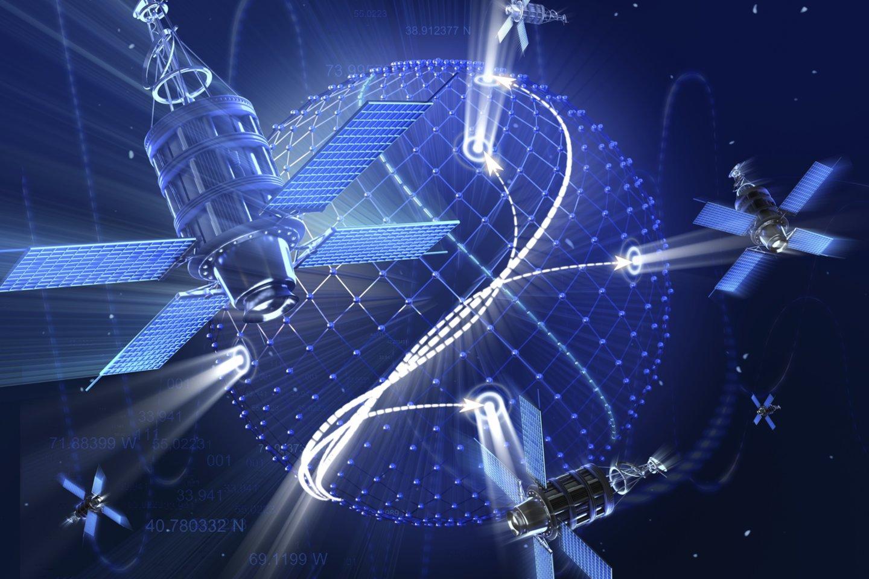 Pirmasis pasaulyje komercinis visiškai perprogramuojamas palydovas penktadienį buvo iškeltas į orbitą.<br>123rf nuotr.
