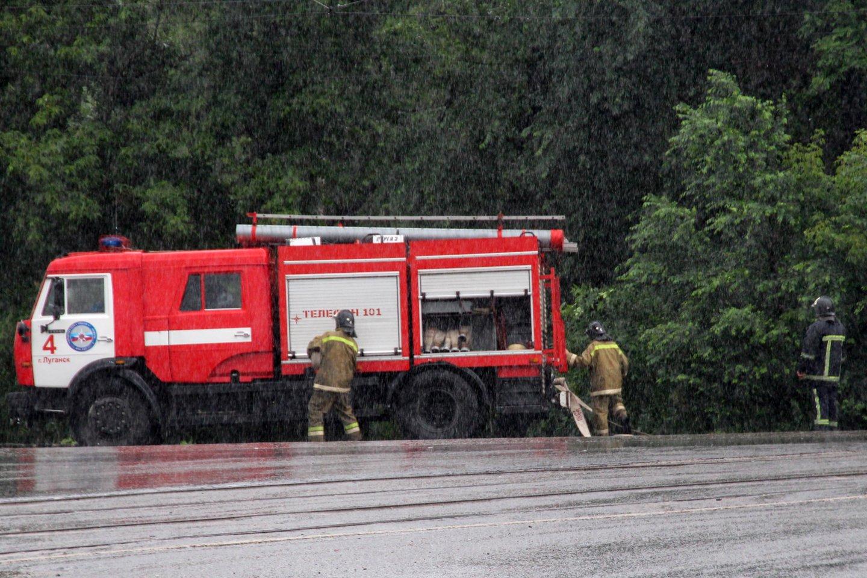 Rytų Ukrainoje per sprogimą anglių kasykloje žuvo žmogus, dar devyni nukentėjo. <br>TASS/Scanpix nuotr.