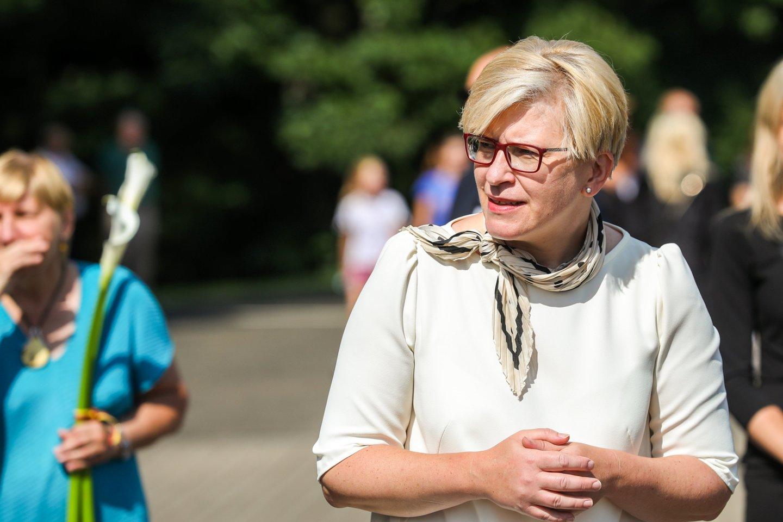 Ingrida Šimonytė.<br>Mariaus Morkevičiaus/ELTA nuotr.