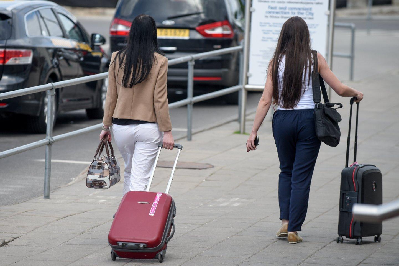 Lietuviai aktyviai vyksta atostogų į užsienį.<br>D.Umbraso nuotr.