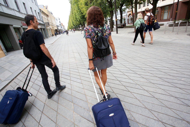 Lietuviai aktyviai vyksta atostogų į užsienį.<br>M.Patašiaus nuotr.