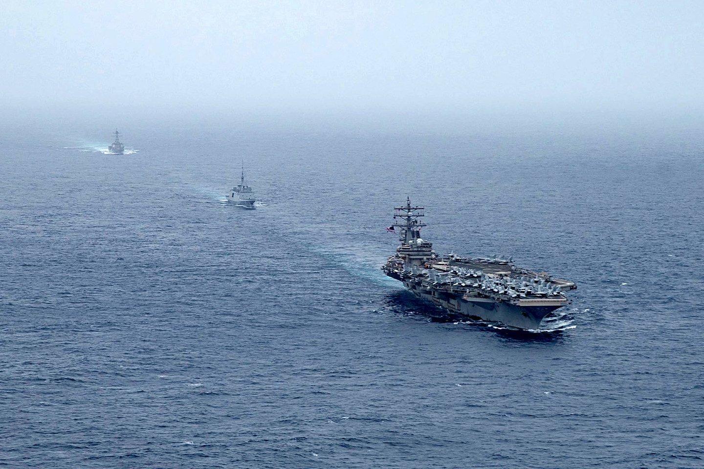 Izraelis ragina JT nubausti Iraną dėl aukų pareikalavusios atakos prieš tanklaivį. <br>AFP/Scanpix nuotr.
